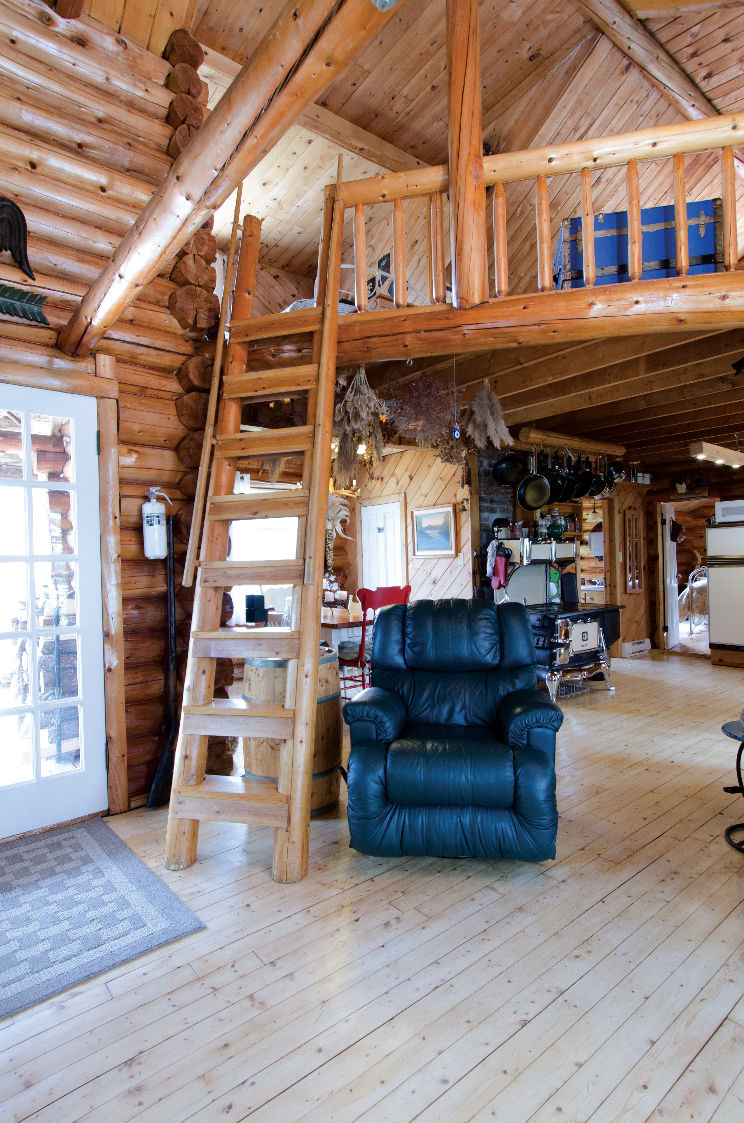 Cabin Tour: A Rustic, Off-Grid Log Cabin In The Woods